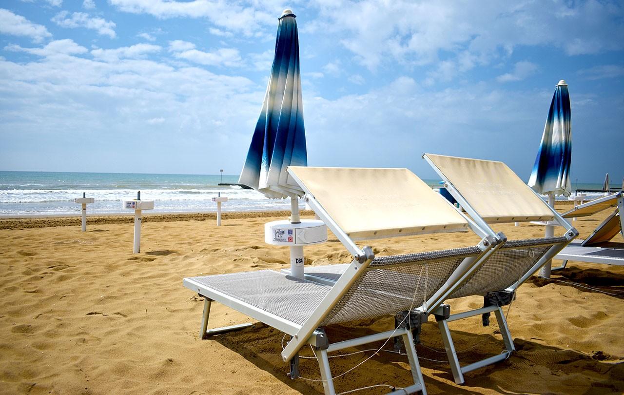 Posto Spiaggia e Parcheggio per il giorno di Partenza